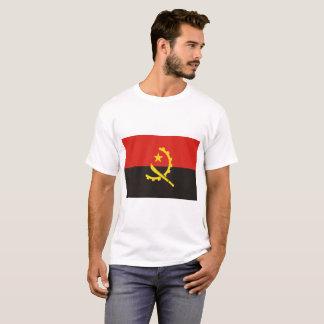 Camiseta Bandeira nacional do mundo de Angola