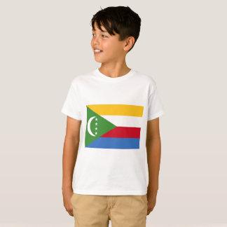 Camiseta Bandeira nacional do mundo de Cômoros