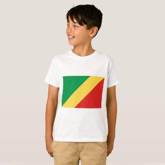 Camiseta Bandeira nacional do mundo de Congo