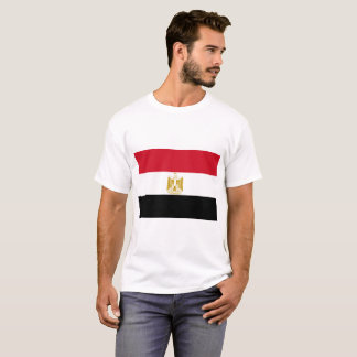 Camiseta Bandeira nacional do mundo de Egipto