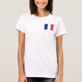 Camiseta Bandeira nacional do mundo de France