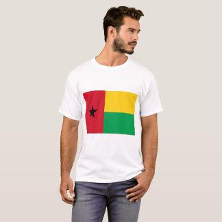 Camiseta Bandeira nacional do mundo de Guiné-Bissau
