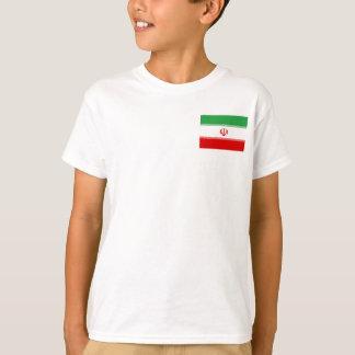 Camiseta Bandeira nacional do mundo de Irã