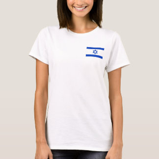Camiseta Bandeira nacional do mundo de Israel