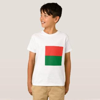 Camiseta Bandeira nacional do mundo de Madagascar
