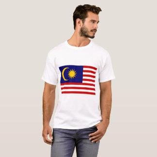 Camiseta Bandeira nacional do mundo de Malaysia