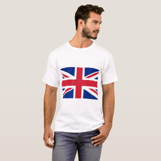 Camiseta Bandeira nacional do mundo de Reino Unido