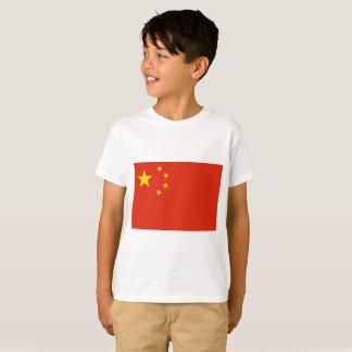 Camiseta Bandeira nacional do mundo de República Popular da