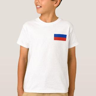 Camiseta Bandeira nacional do mundo de Rússia