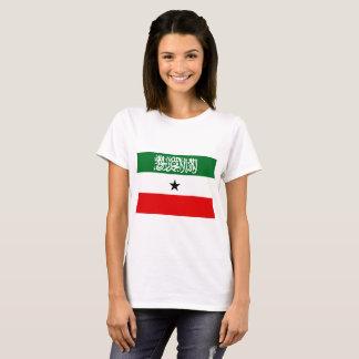 Camiseta Bandeira nacional do mundo de Somaliland