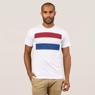 Camiseta Bandeira nacional dos Países Baixos, Holland,