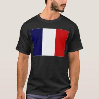 Camiseta Bandeira nacional francesa francesa de Polinésia