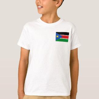 Camiseta Bandeira nacional sul do mundo de Sudão