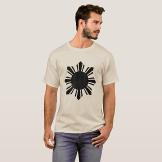 Camiseta Bandeira negra Filipinas Sun