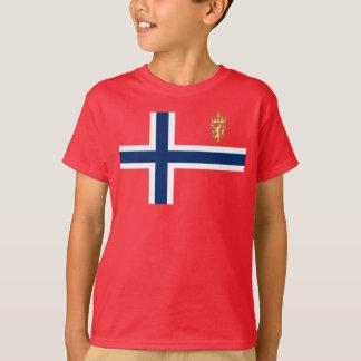 Camiseta Bandeira norueguesa