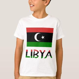 Camiseta Bandeira & palavra de Líbia