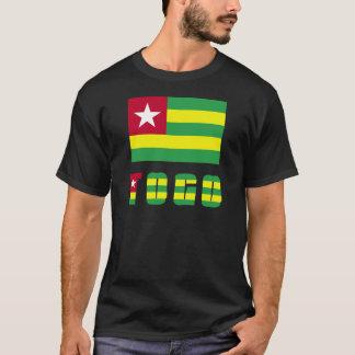 Camiseta Bandeira & palavra de Togo