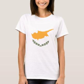 Camiseta Bandeira patriótica de Chipre
