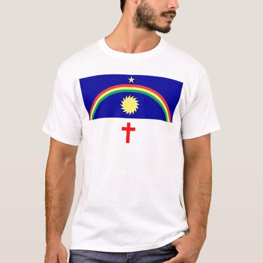 Camiseta Bandeira Pernambuco Brasil