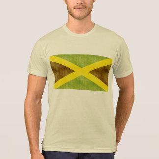 Camiseta Bandeira retro de Jamaica do vintage