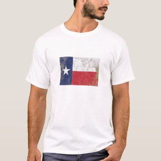 Camiseta Bandeira rústica do estado de Texas