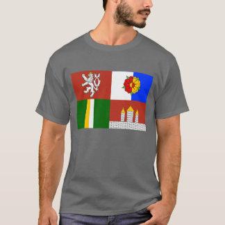 Camiseta Bandeira sul de Boémia