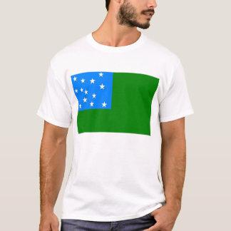 Camiseta Bandeira verde dos meninos da montanha