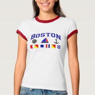 Camiseta Bandeiras de sinal de Boston