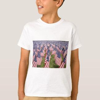 Camiseta Bandeiras do Memorial Day