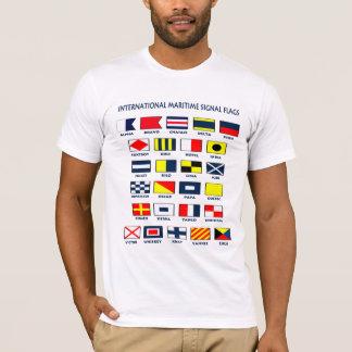 Camiseta Bandeiras marítimas