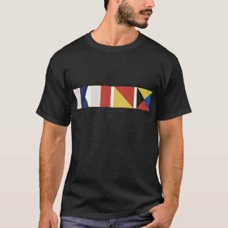 Camiseta Bandeiras náuticas