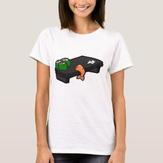 Camiseta bandeja do sushi