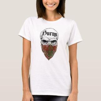 Camiseta Bandido do Tartan das queimaduras