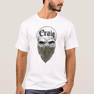 Camiseta Bandido do Tartan de Craig
