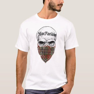 Camiseta Bandido do Tartan de MacFarlane