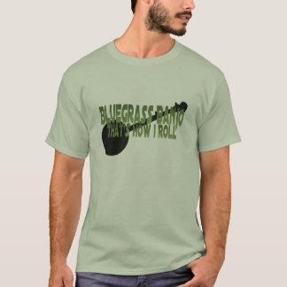 Camiseta Banjo do Bluegrass. Isso é como eu rolo