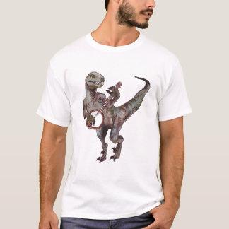 Camiseta Banjo que joga o Velociraptor