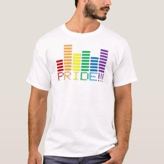 Camiseta Bar 2013 do som do arco-íris do orgulho gay