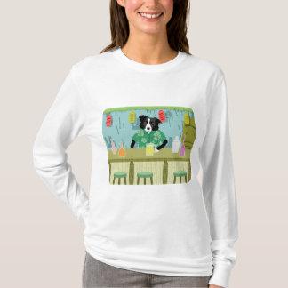 Camiseta Bar de bambu de border collie Tiki