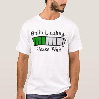 Camiseta Bar de carga do cérebro