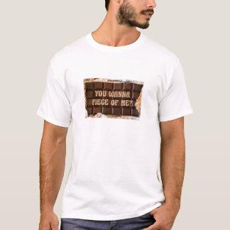Camiseta Bar de chocolate, você quer remendar de mim?