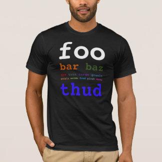 Camiseta Bar de Foo