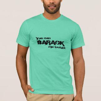Camiseta Barack mim hoje à noite