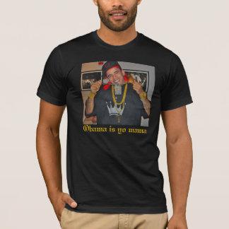 Camiseta Barack-Obama-Bling-Bling-25322, Obama é mama do yo