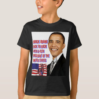 Camiseta Barack Obama, de volta a Back_