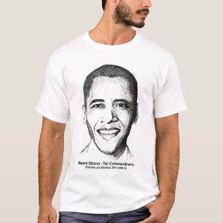 Camiseta Barack Obama dez mandamentos 2 tomou partido