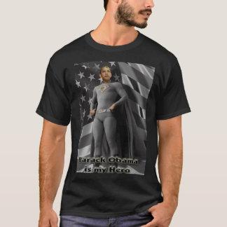 Camiseta Barack Obama é meu herói