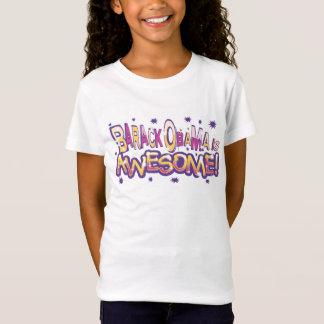 Camiseta Barack Obama é t-shirt impressionante para meninas