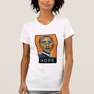 Camiseta Barack Obama - esperança - personalizado