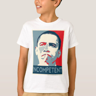 Camiseta Barack Obama - incompetente